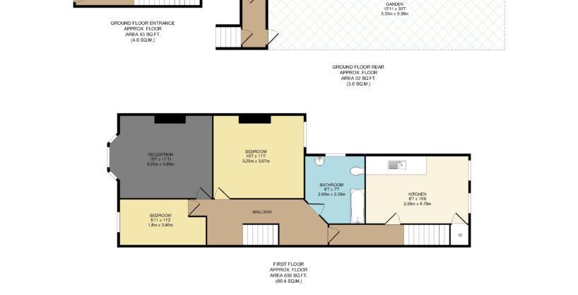 2 Bedroom Maisonette, High Street South, East Ham, E6 6EJ