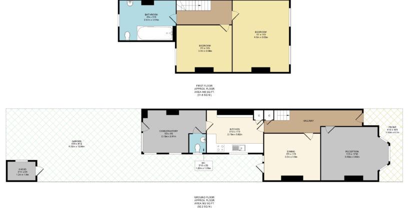 2 Bedroom Terraced House, Keogh Road, Stratford, E15 4NR